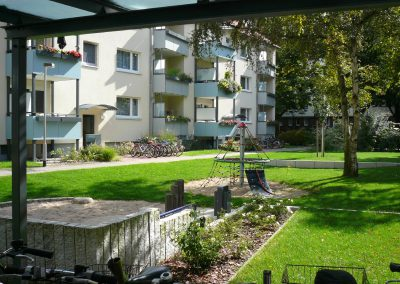 Geschosswohnungsbau Haltenhoffstraße